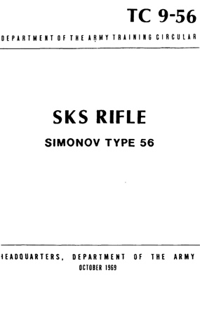 Us Army Sks Manual