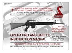 m16 m4 ar 15 manuals the firearm blogthe firearm blog rh thefirearmblog com AR-15 Magazine Lock Bushmaster Instruction Manual