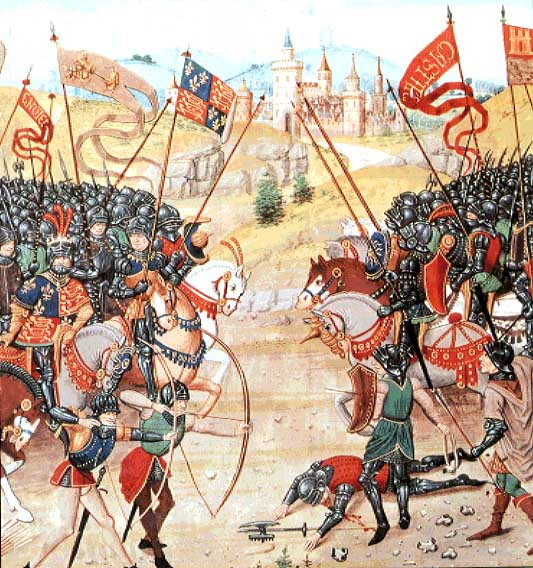 the evolution of warfare techniques during the middle ages Medieval weaponry 7 only during the hundred years' war (1337-1453) during the middle ages helmets were designed in different forms.