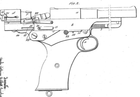 Mars Pistol The First Pistol With The Magazine Located Under The