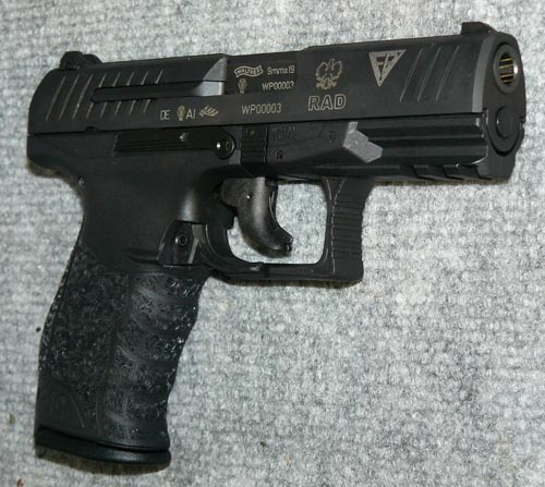 More here (this... P99 Pistol