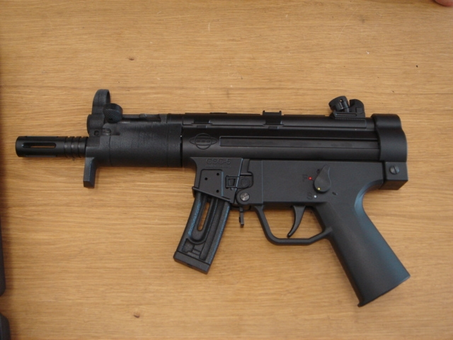GSG-5PK:  22 MP5K patterened pistol (and photos) -The
