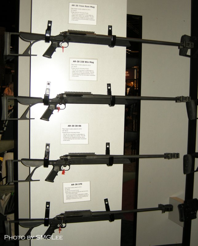 armalite ar 30 coming in 270 win 30 06 7mm rem mag and 338 win