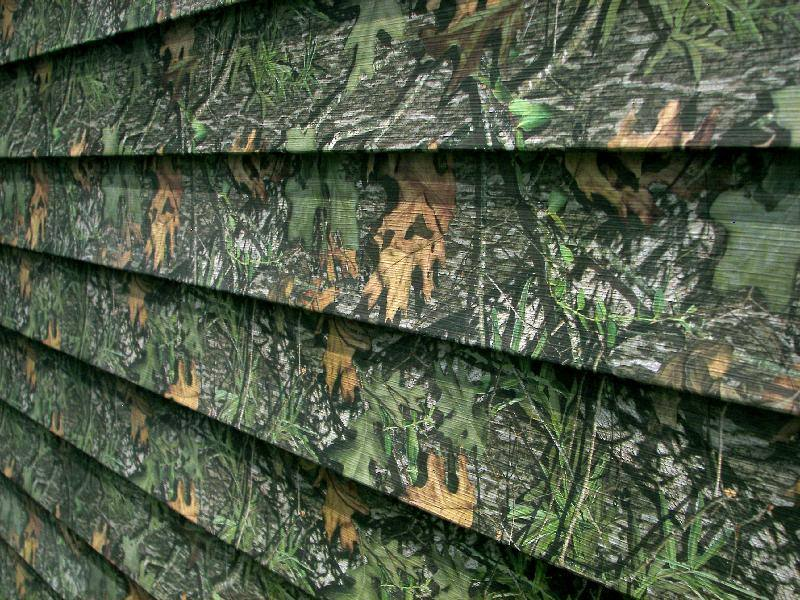 Mossy Oak Camo Colored Exterior Cladding For Buildings
