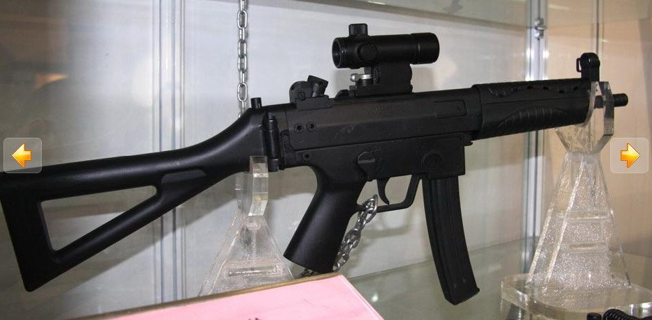 Chinese Mp5 Style 9mm Submachine Gun The Firearm Blog