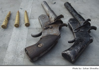 Home Made Pistols