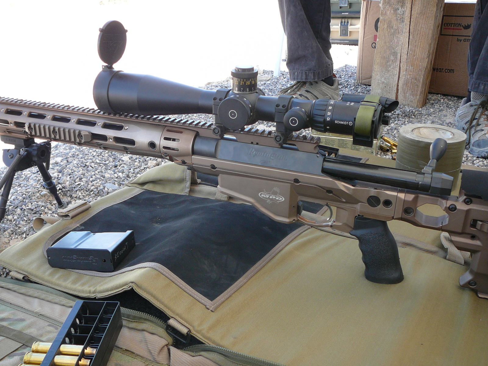 Remington Modular Sniper Rifle (MSR) - The Firearm BlogThe ...
