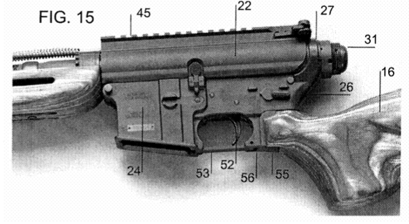 wooden ar 15 stock patented the firearm blog