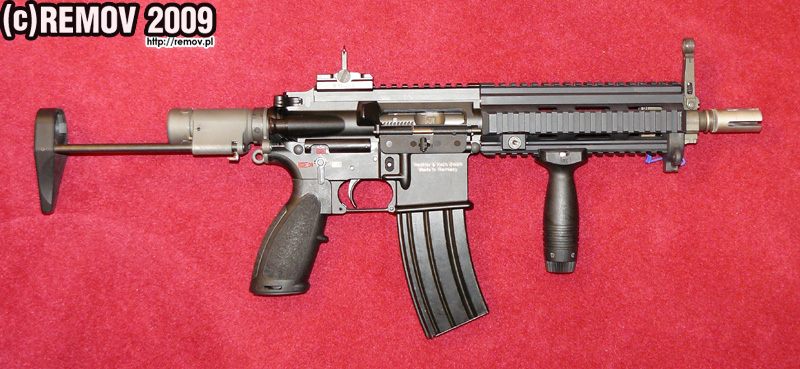 DSEi 09: New design HK416 Sub-Carbine -The Firearm Blog