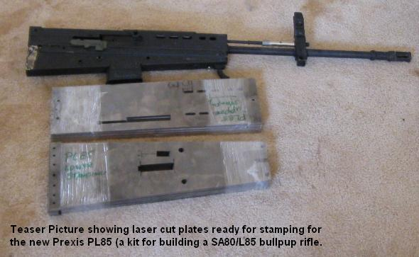how to make a laser rifle