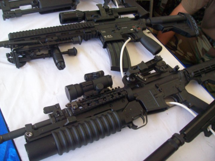 Xm8 Mp5 Grenade Launcher Hk417s Weapons Of The Royal
