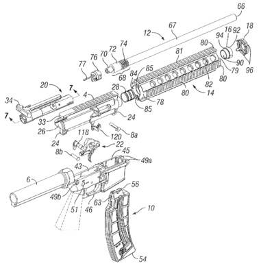 S amp W Applies for Patent on M amp P15 22 The Firearm BlogThe