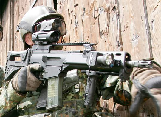 The G36k Idz The Firearm Blog
