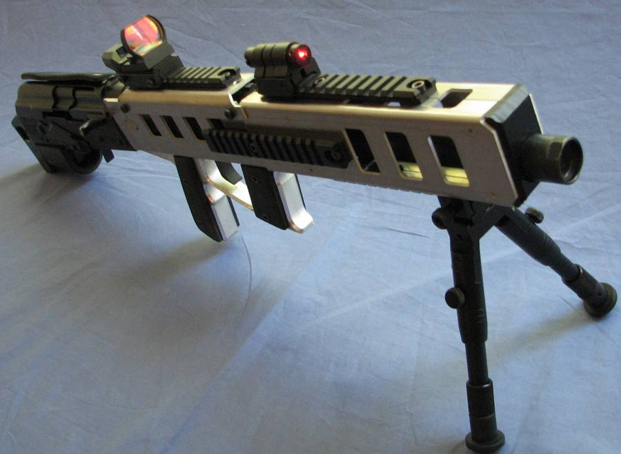 Muzzelite Bullpup Stock for the Ruger 10/22