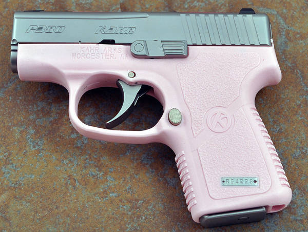 kahr limited edition pink pistol the firearm blogthe
