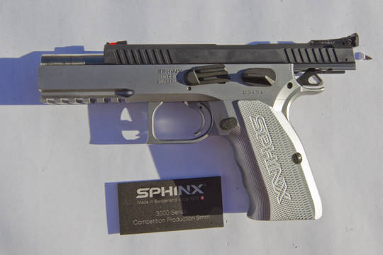 KRISS Sphinx Pistols -The Firearm Blog
