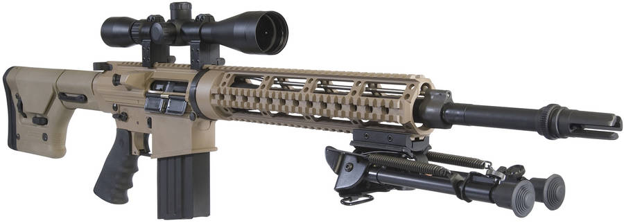 DPMS Panther REPR 7.62mm NATO rifle - The Firearm BlogThe ... M110 Sniper Rifle Suppressed
