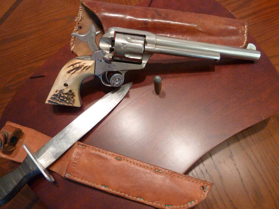 Guest post] How I acquired my Colt Single Action Army revolver -The