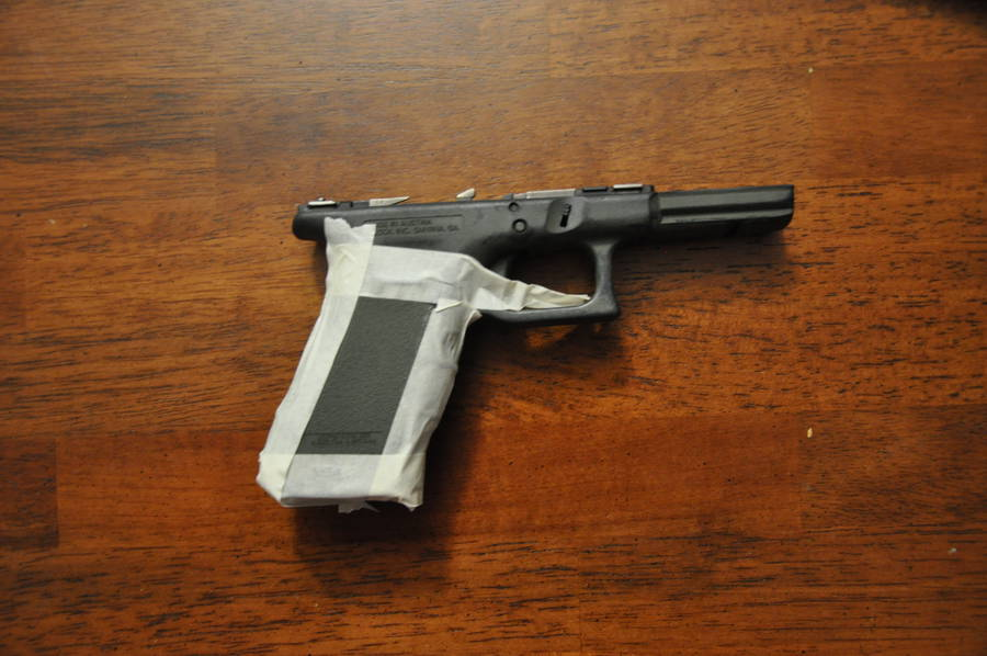 Guest Post Diy How To Stipple A Pistol The Firearm