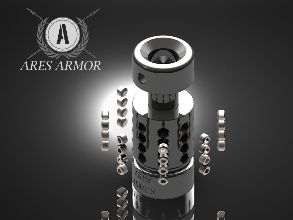 Ares Armor EFFIN-A Comp Exploded View