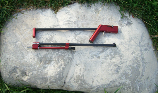 The 1 Pound Pack Rifle And Fishing Pole The Firearm Blog