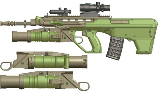 image 001 tm tfb Australias next gen rifle, the  EF 88 photo