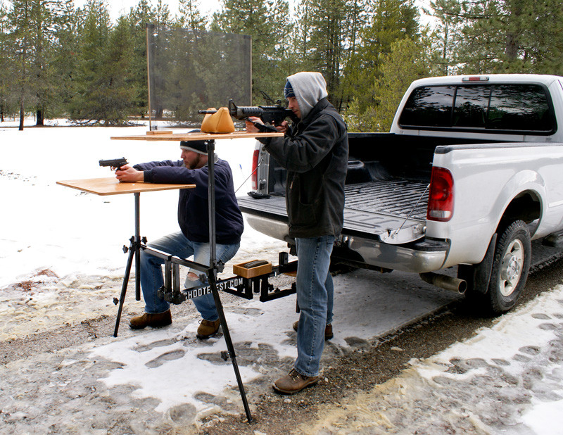 Hitch mounted Shooting Bench The Firearm BlogThe