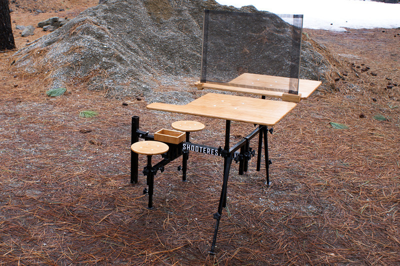 Hitch Mounted Shooting Bench The Firearm Blog