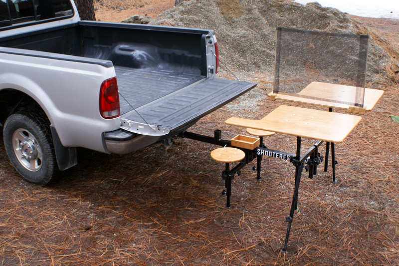 Hitch Mounted Shooting Bench The Firearm Blogthe Firearm