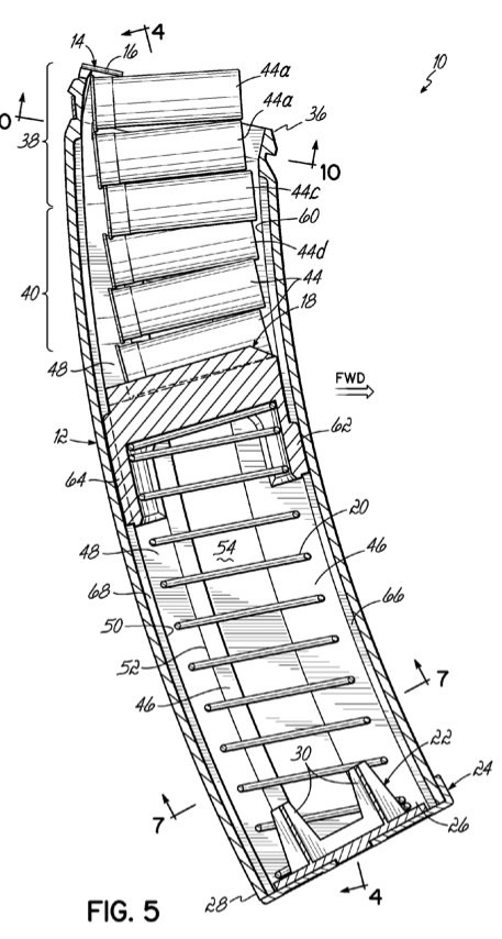 Md arms double stack saiga magazine patent the firearm blogthe md arms double stack saiga magazine patent ccuart Images