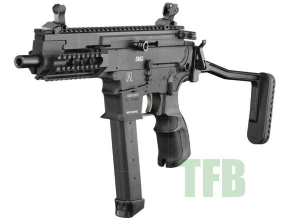 Civilian Control Over Military >> Silver Shadow Gilboa 9mm Submachine Gun -The Firearm Blog