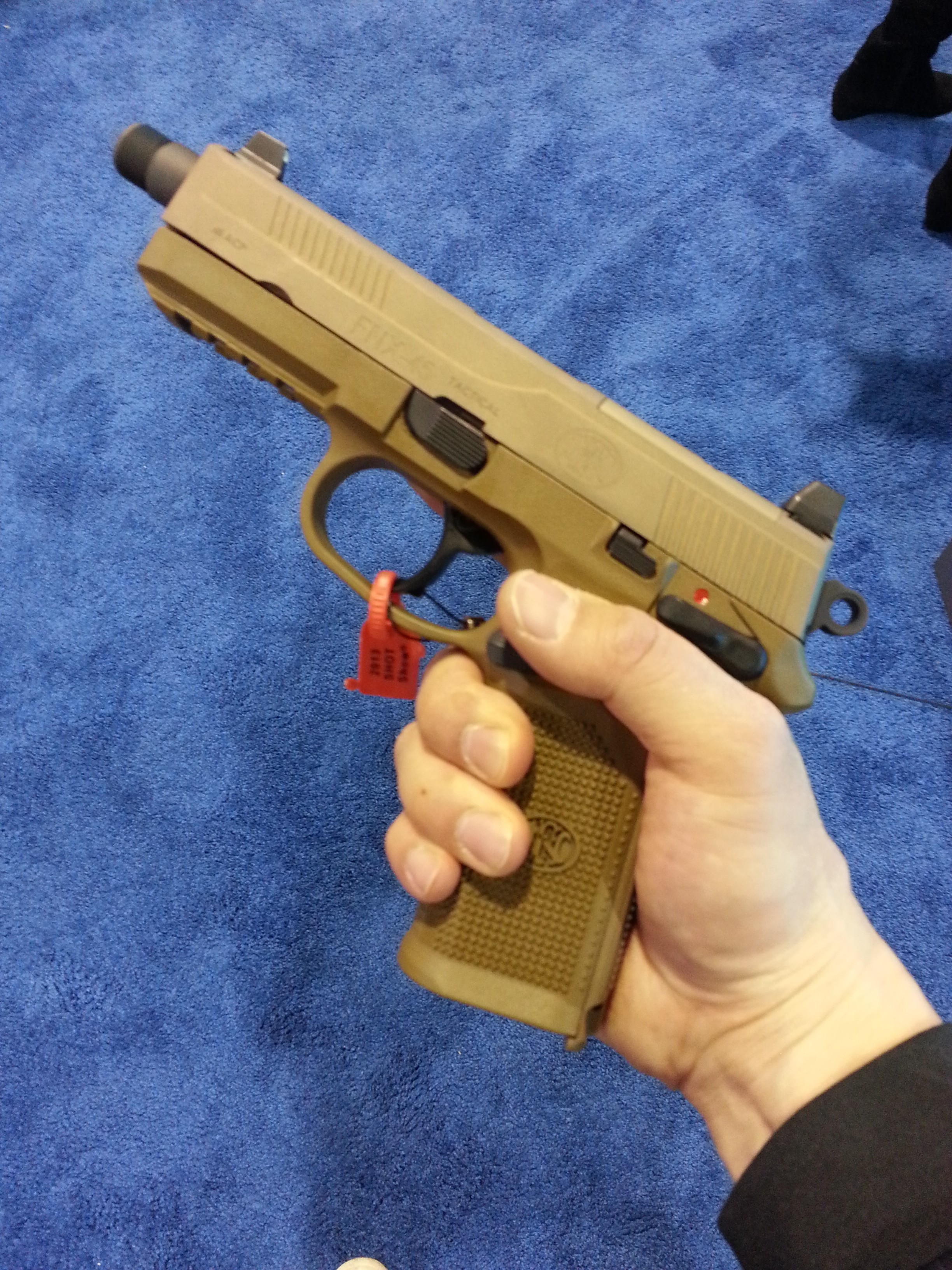 45 Pictures Of Bohemian Lifestyle: FNH's New FNS-9, FNS-40, And FNX-45 Pistols, And The A5X
