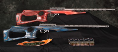 "Volquartsen Custom's ""I-Fluted"" rifle, as seen on Top Shot Season 3."