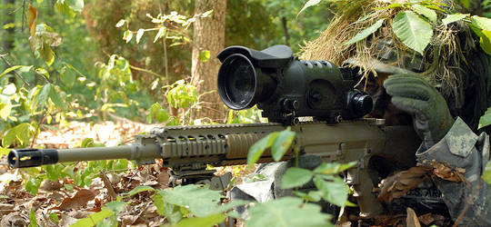 Problems with the Semi-Automatic M110 Sniper Rifle? - The ... M110 Sniper Rifle Suppressed