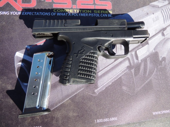 Springfield XDs 9mm with 7 round magazine