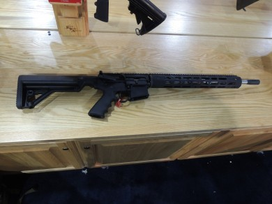 The R3 offers a rifle-length hand guard with mid-length gas block.