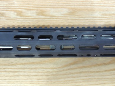 The R3's hand guard.  If you look close you can see the tapered barrel.