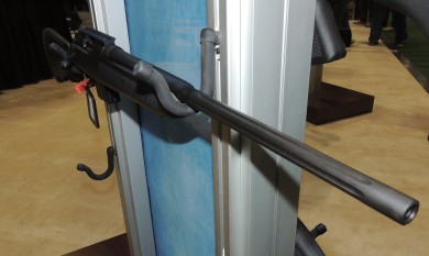 "The Youth rifle has a fixed stock, no optics, and the 20"" fluted Sporter barrel."