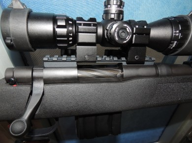 The MVP FLEX and Patrol fluted bolt and 3-9x32mm scope.
