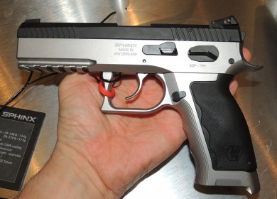 The prototype SDP Pro Production Standard made of steel