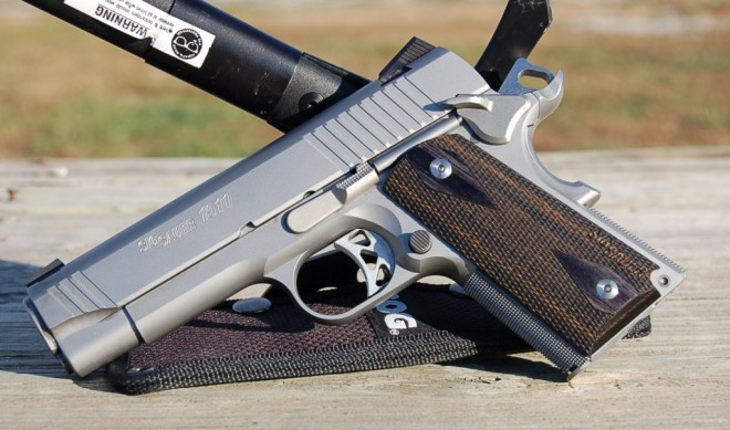 Gun Review Sig Sauer Traditional 1911 Compact The Firearm Blog