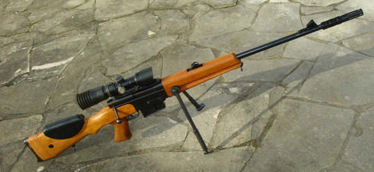 FR F1 sniper rifle was ahead of its time when introduced in the 1960s.