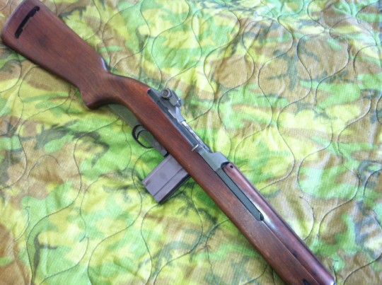 Inland M1 carbine originally manufactured in June, 1944 still shoots beautifully.