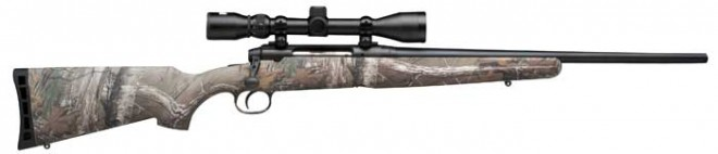 Savage axis youth camo