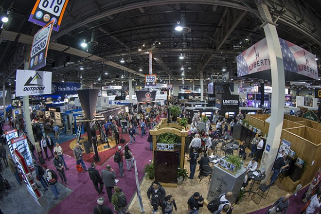 Shot Show fisheye