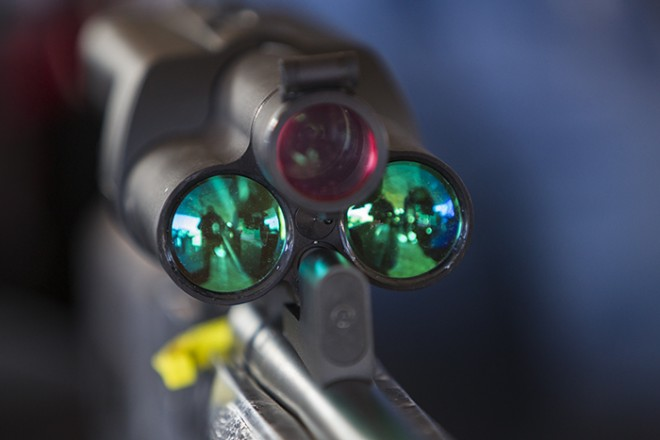 Tracking Point optics