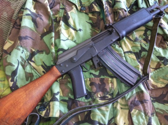 This Valmet M-71/s was acquired by the author in the mid-seventies and is considered an excellent AK variant. It was originally imported by Interarms into the US.