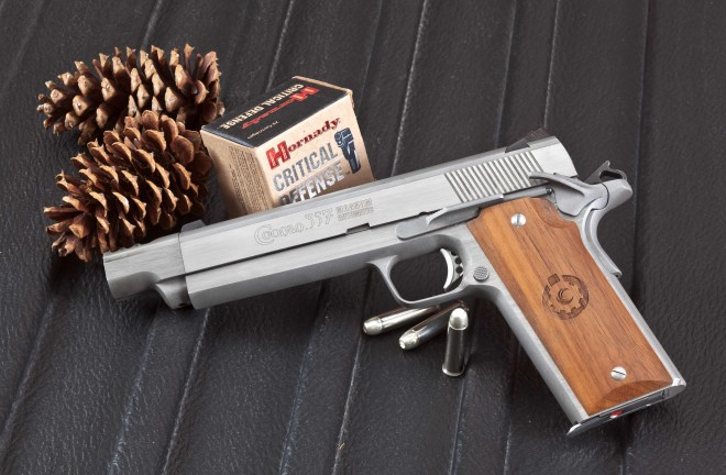 Coonan  357 Mag  Automatic Compensated Pistol -The Firearm Blog