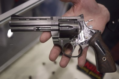 A cutaway shot of Korth's $37K revolver.