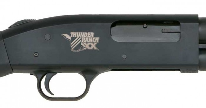 Mossberg Thunder Ranch shotgun logo